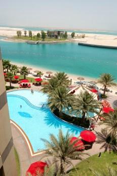 The beach of luxury hotel, Abu Dhabi, UAE