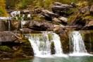 Cascade waterfall in Andorra