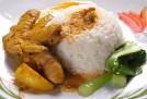 curry chicken rice