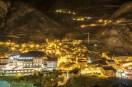 Andorra La Vella village at night