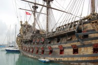 pirate ship off Genoa