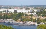 Balaklava harbour in Sevastopol