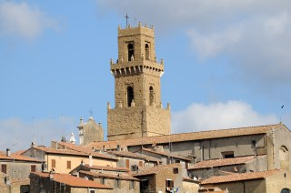 Pitigliano Church Tower