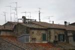 Rooftops in Pitigliano