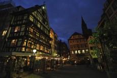 Strasbourg, night street view