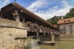Bern Bridge in Fribourg