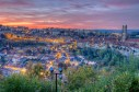 View of Fribourg city, Switzerland, HDR