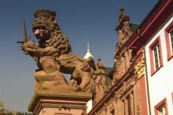 Heidelberg,University Square, Lion King Statue