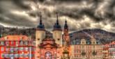 Entrance to Heidelberg from Karl Theodor Bridge - Germany