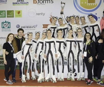 JEUNESSE 2017-CAMPIONATO REGIONALE - il podio seconde classificate
