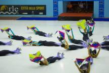 Un momento dello Spettacolo Magiche Rifrazioni del Grande Gruppo al Campionato Regionale 2016