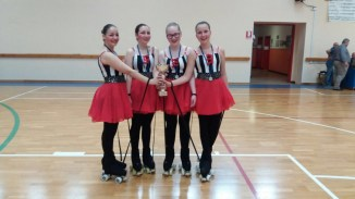 """Trofeo Provinciale AICS 4 giugno 2016 Quartetto """"Le Marionette"""""""