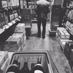 Vino shopping with Nonno