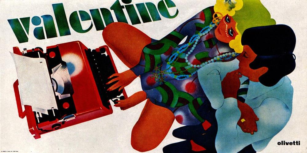 Vintage Olivetti ad