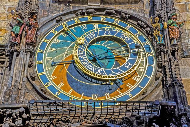 Astronomic Clock of Prague - Czech Republicpraga