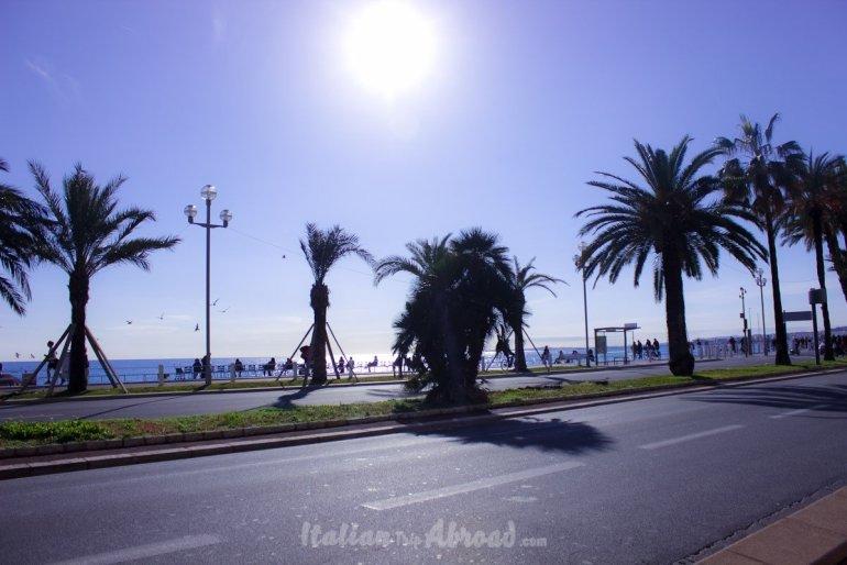 nice promenade seaside