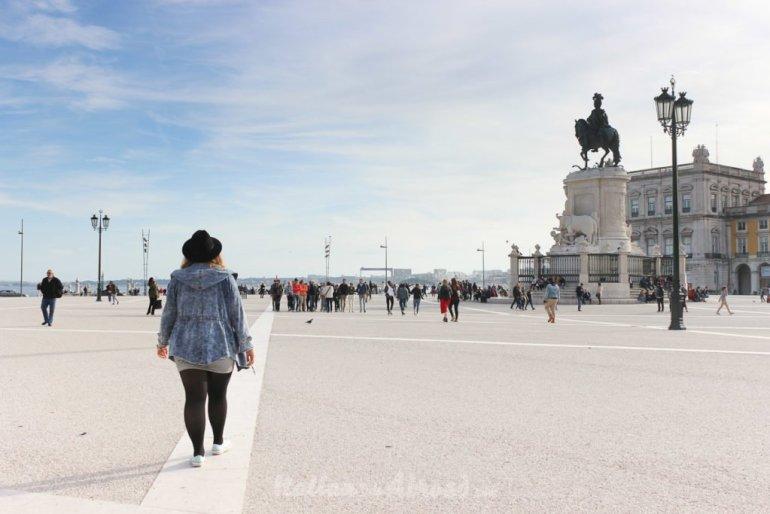 plaça de Comercio - Lisbon - Italiantripabroad