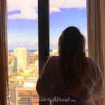 Alessia Italian Trip abroad suite at 12th floor Porto Portugal