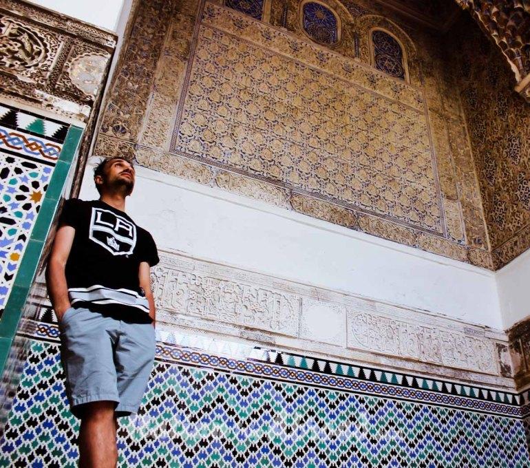 Royal Alcazar Sevilla Italian Trip Abroad