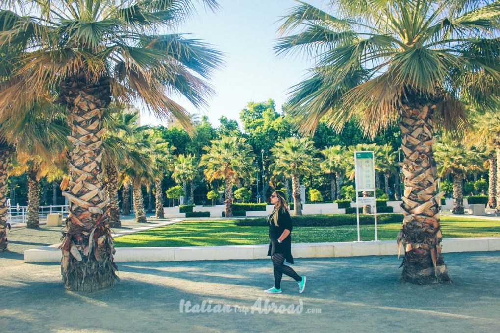 Malaga Park - Amazing Garden close to the Harbour of Malaga - Best beaches in Malaga