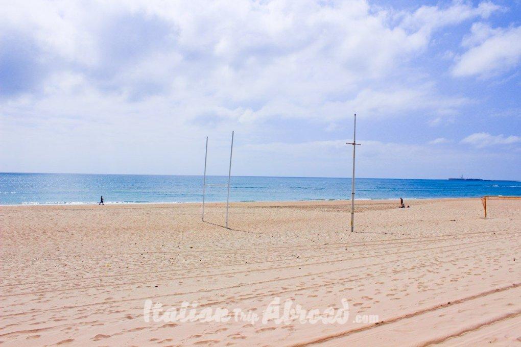 Amazing beaches landscapes of Malaga