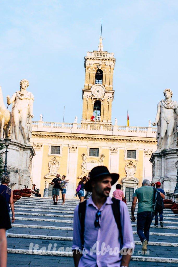 Campidoglio rome tour guide