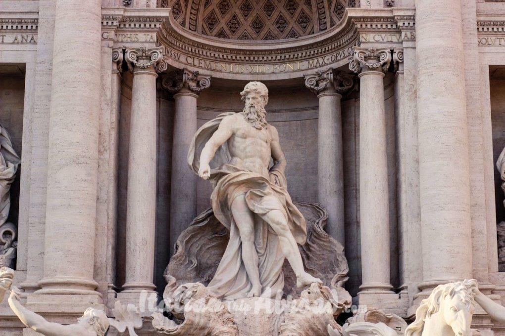 The best of Rome - statue fontana di trevi