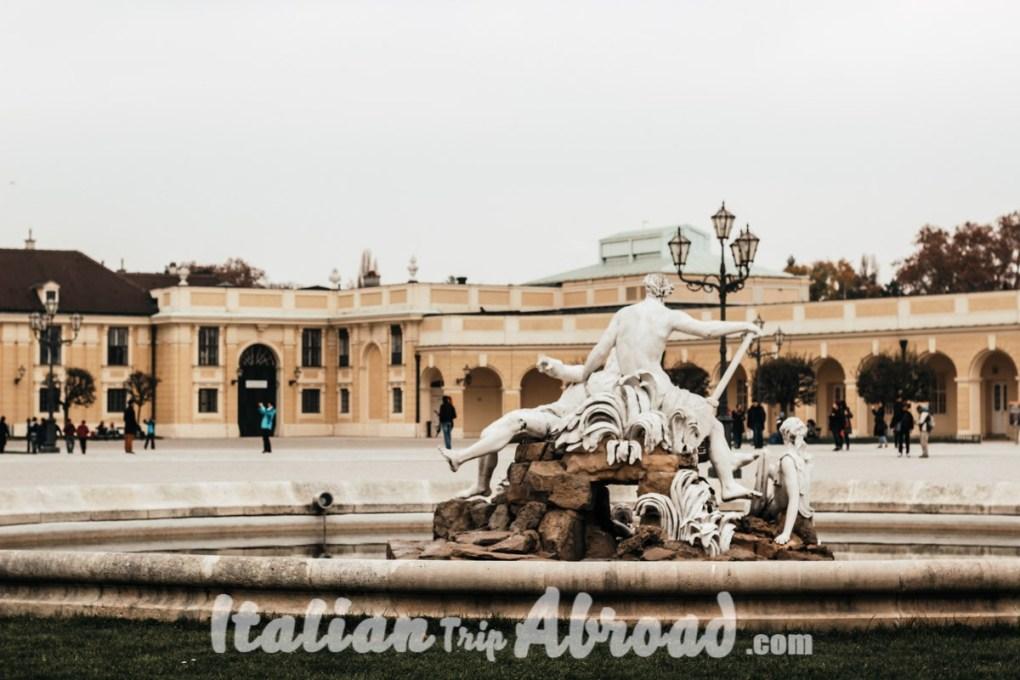 Zeus Fountain in Vienna