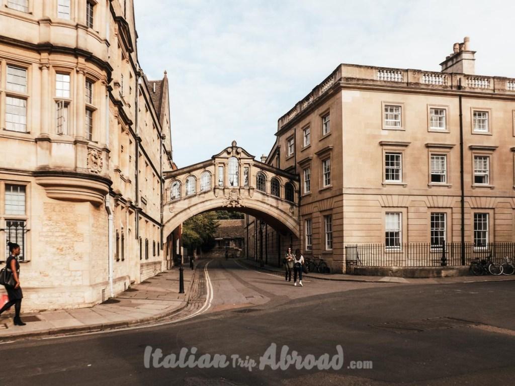 Oxford one day itinerary- Sight Bridge