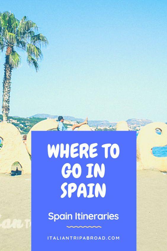 Spain Itinerary in 2 weeks