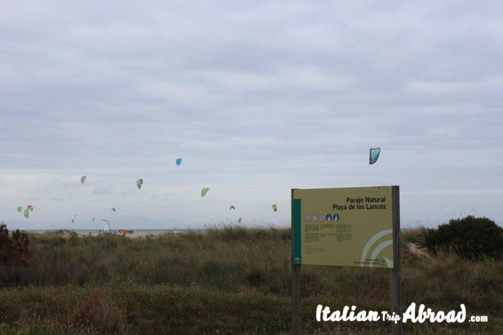 Playa de los angles - Windy place in Tarifa