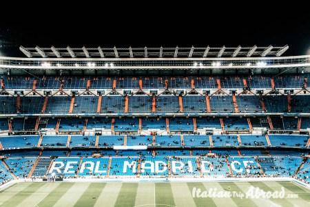 Santiago Bernabeu foobal stadium of Madrid - Famous landmarks in Spain