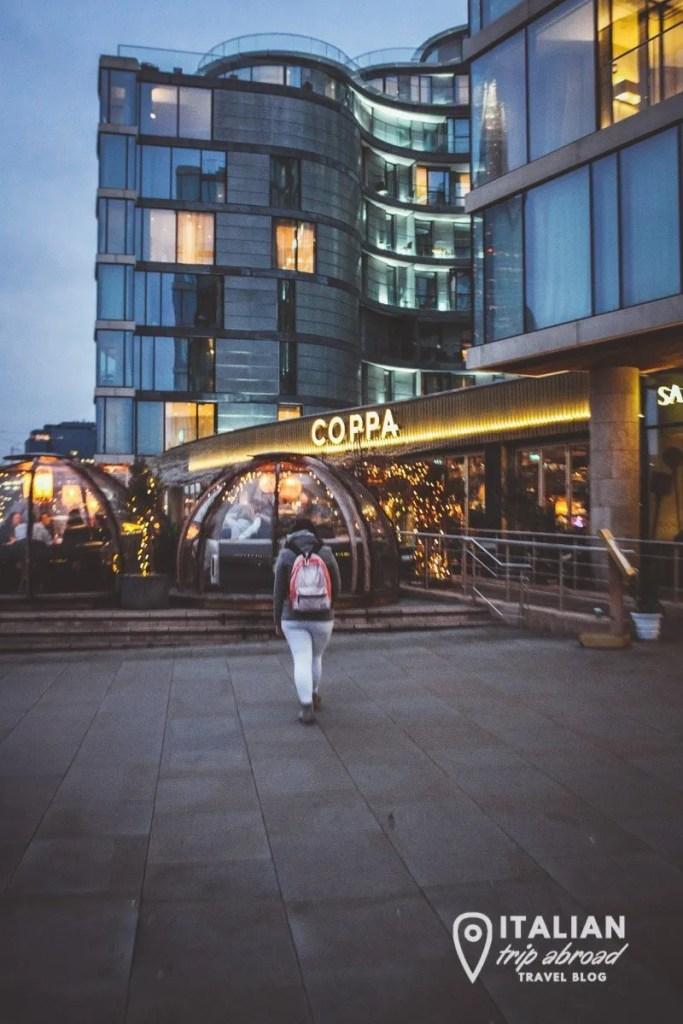 London best restaurant skyline - Coppa Club tower bridge of London