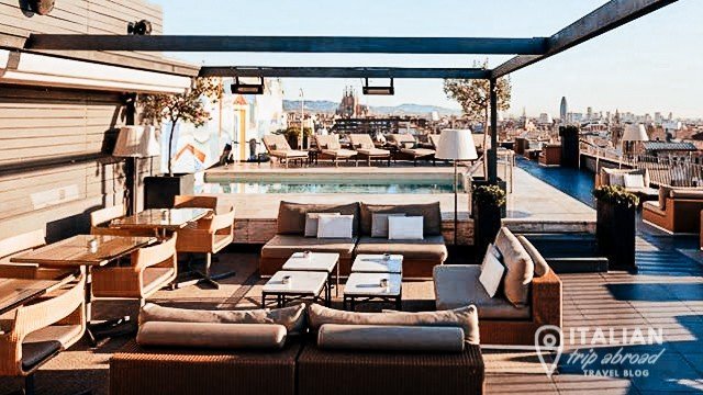 hidden gems of Barcelona - Roof Tops Bar of Barcelona - Best view of Barcelona - Spain-15