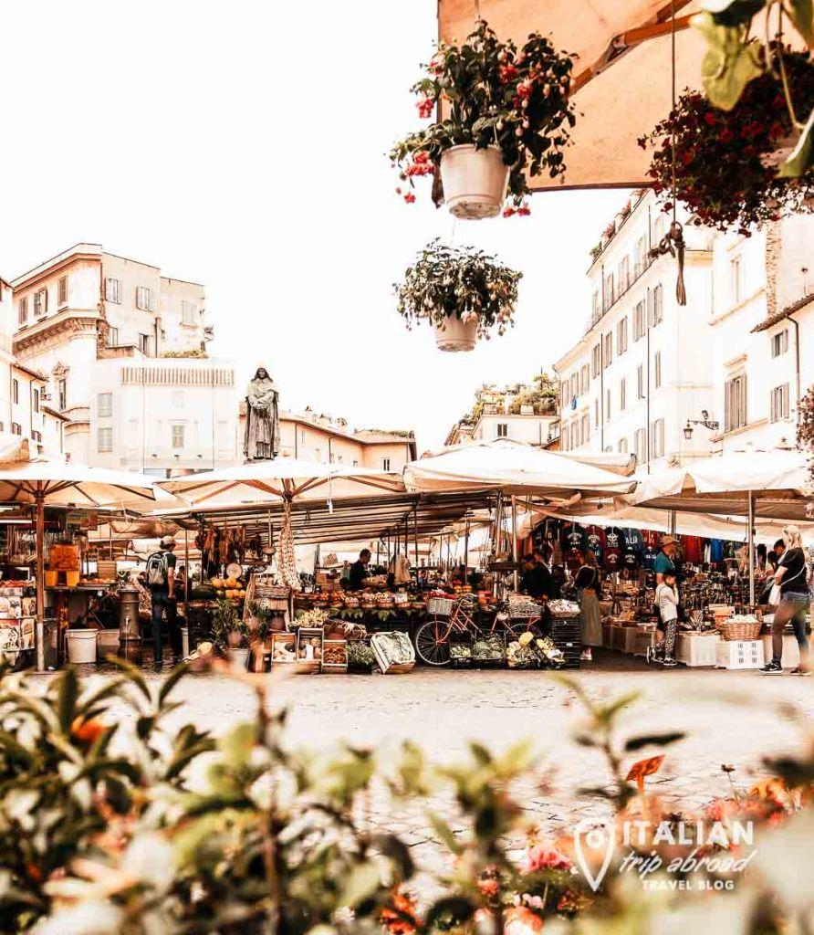 Campo de Fiori - Visit Rome like local - Visit Rome in 2 days