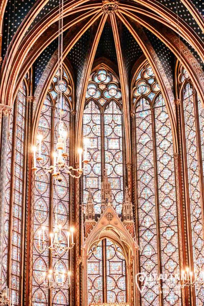 Saint Chapele Paris - two-day itinerary of paris
