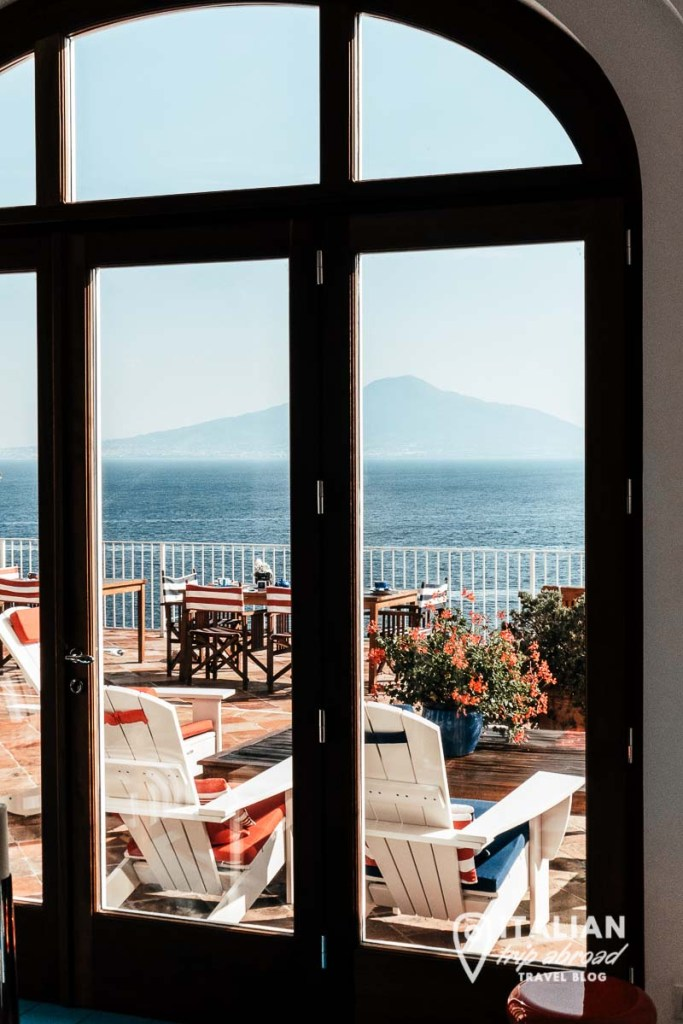 View on the Gulf of Naples - Best resorts in Naples Italy