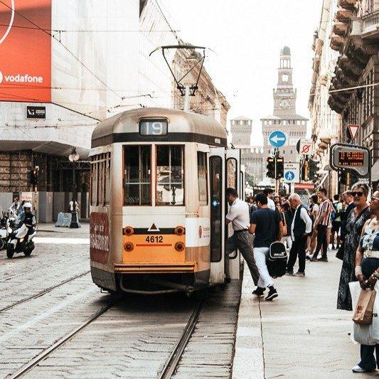 Tram in Milan - Italy