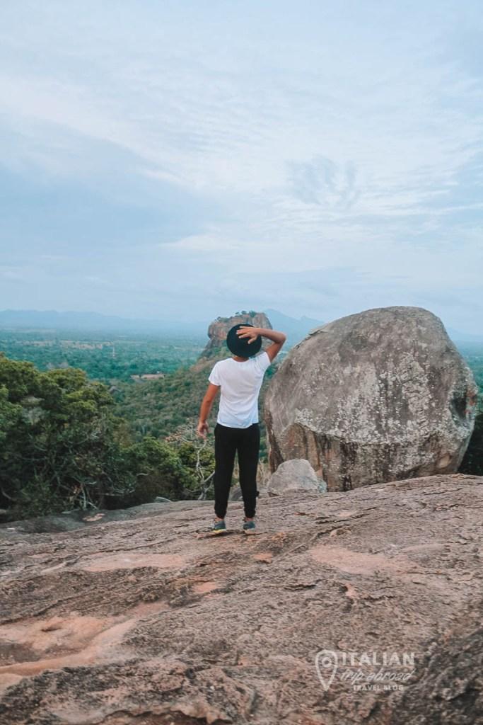Pidurangala Rock Hike - Best view over Unesco Heritage Site Sigiriya