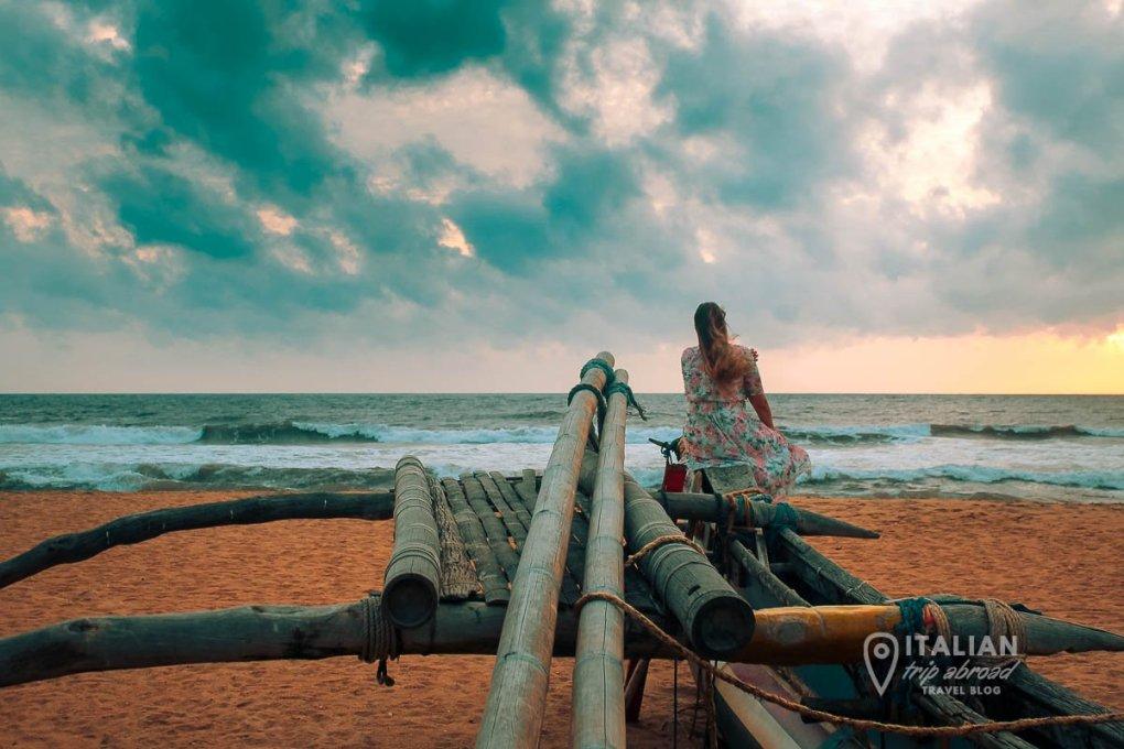 Negombo Beach SRi Lanka