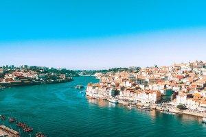 Riverview of Porto Portugal - Winter in Porto