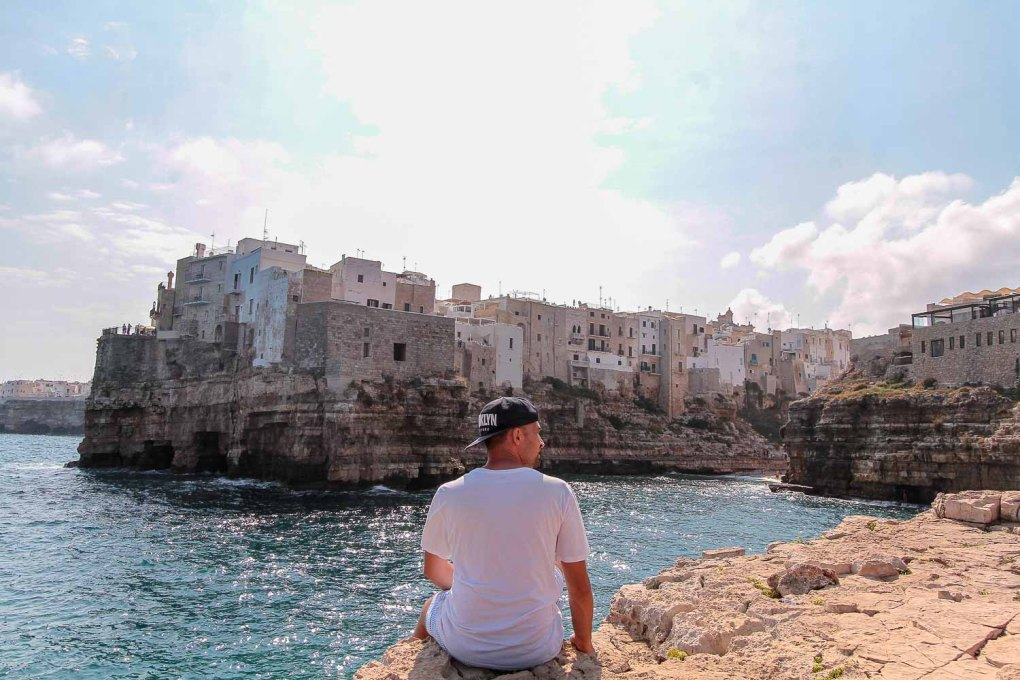 Polignano beautiful crystal water | One of the reasons why is Puglia worth visiting