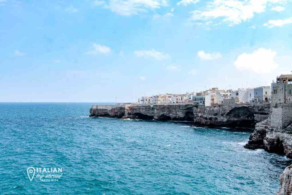Polignano a Mare landscape | A week in Puglia itinenrary