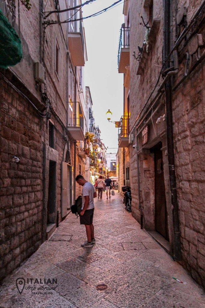 Streets of Old Town of Bari