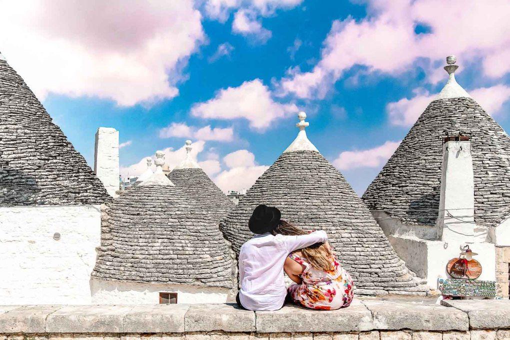 The romantic Alberobello landscape ' Enjoy a romantic weekend in Alberobello, Italy
