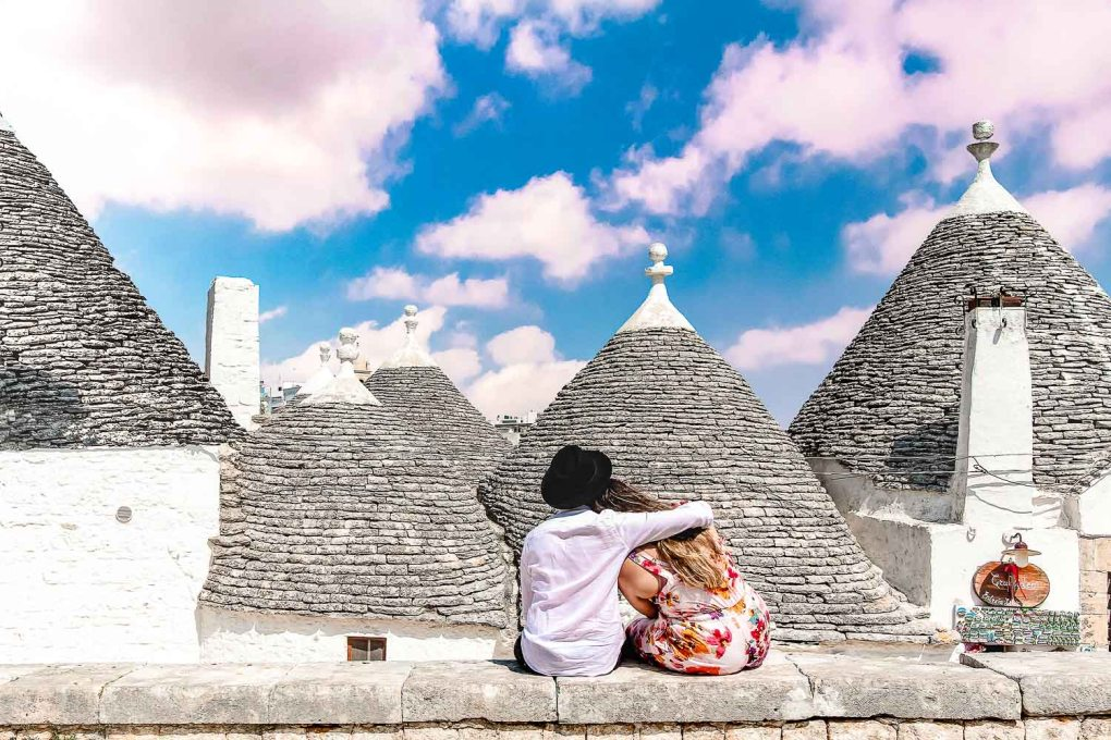 The romantic Alberobello landscape ' Enjoy a romantic weekend in Alberobello, Italy