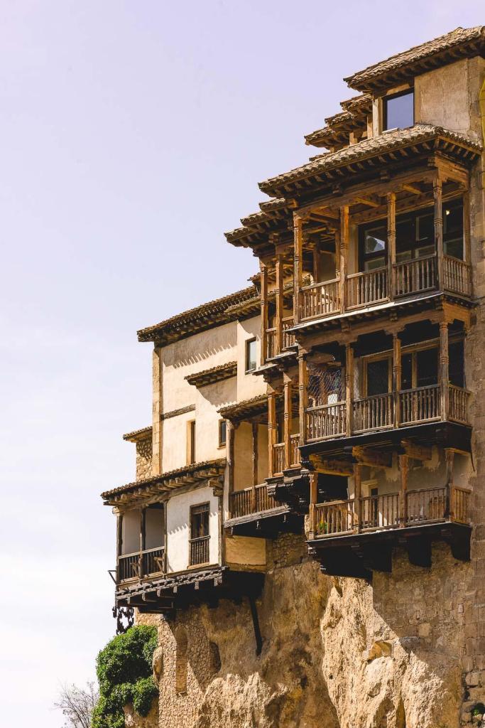 Las Casas Colgadas in Cuenca Spain