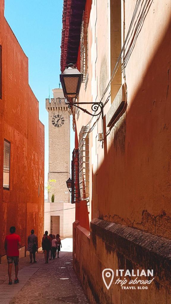 Torre de mangana Cuenca - What to do in Cuenca Spain