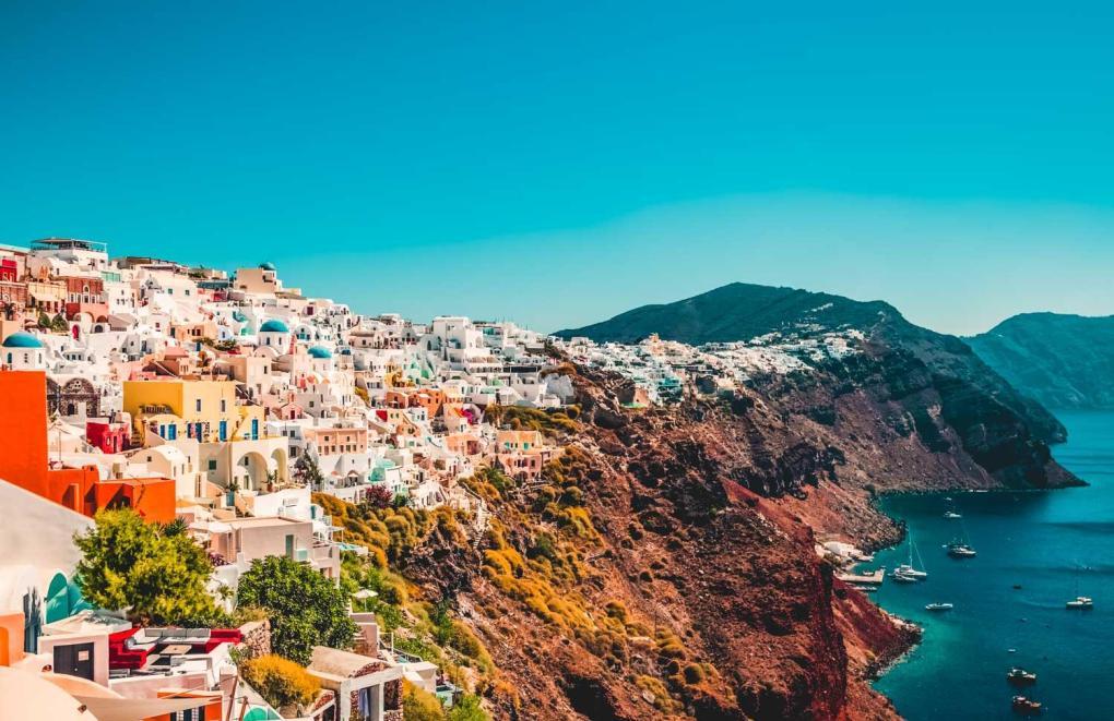 Santorini a romantic gateway in Europe