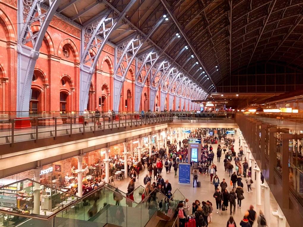 St. Pancreas International Train Station London